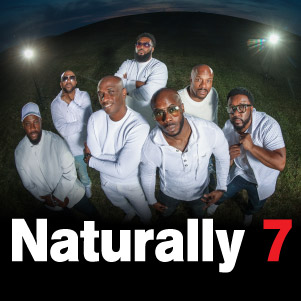 Naturally 7 is more than a tightly orchestrated collection of great singers, they transform their voices into actual human instruments, effortlessly producing music of any genre.