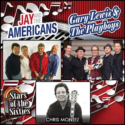 Stars of 60s - Jay Americans-400x400